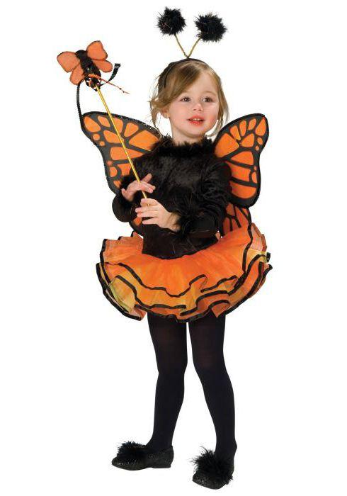 новогодний костюм бабочки