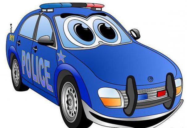 мультики про машинки полицейские