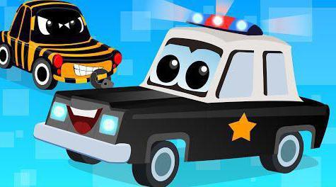 мультики про полицейские машинки с мигалками
