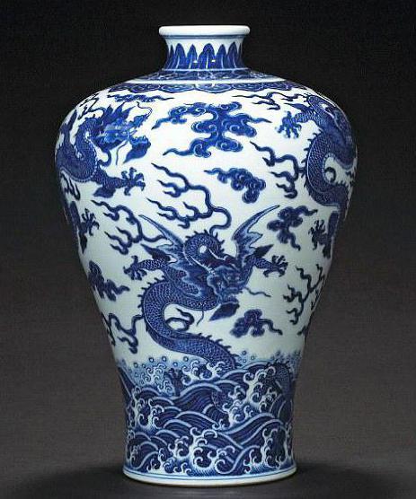 китайские напольные вазы