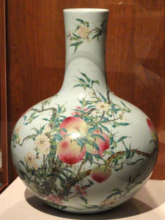напольная ваза фарфоровая китайская