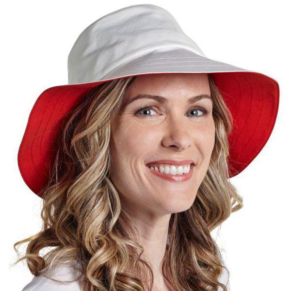 летняя широкополая шляпа