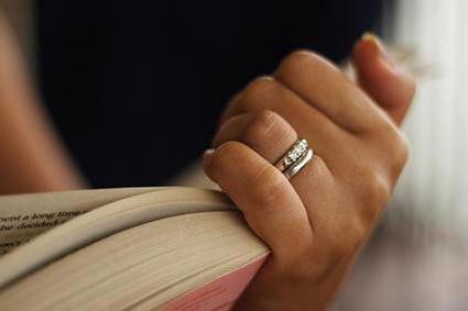 ношение кольца на безымянном пальце левой руки