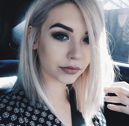 блондинки с черными бровями фото