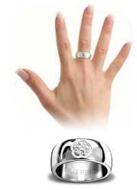 кольцо на среднем пальце правой руки
