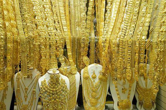 дубайское золото бижутерия