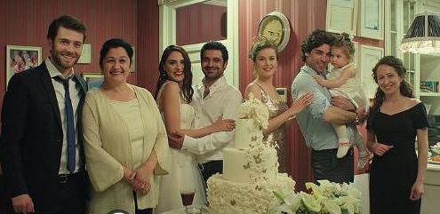 Дело чести турецкий сериал актеры