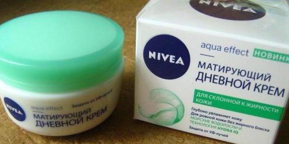 крема для жирной кожи лица матирующий