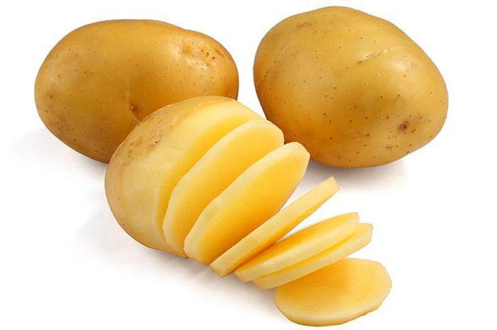 маска для лица из картофеля сырого лифтинг