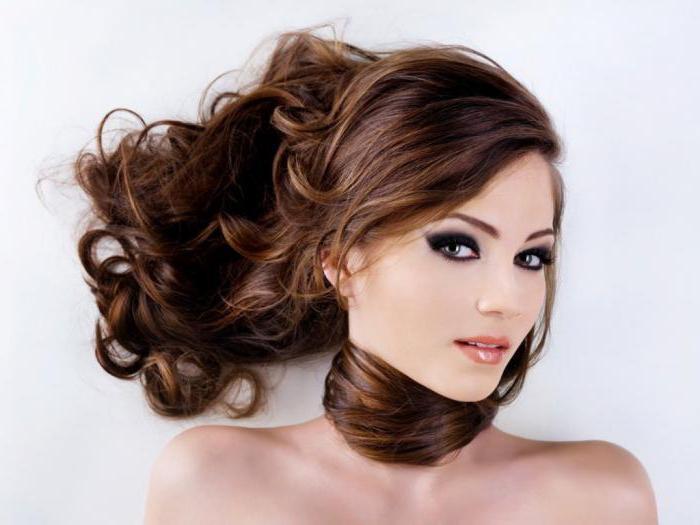 кофейно бронзовый цвет волос