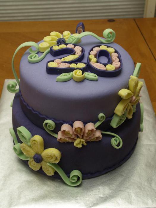торт для девушки на 20 лет фото