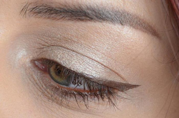 коричневый карандаш для глаз фото
