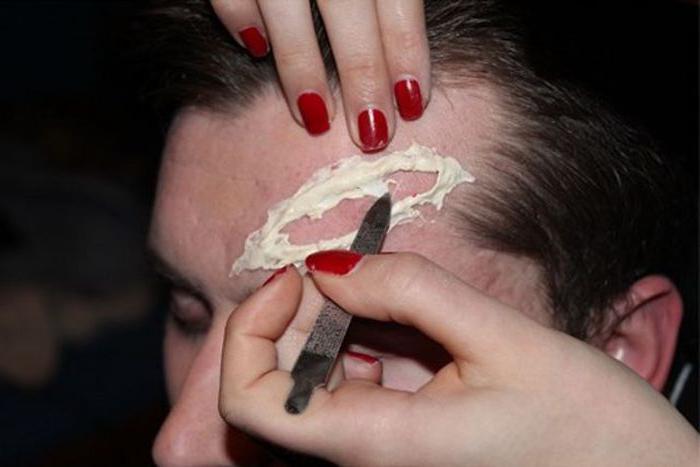 как сделать искусственную рану в домашних условиях