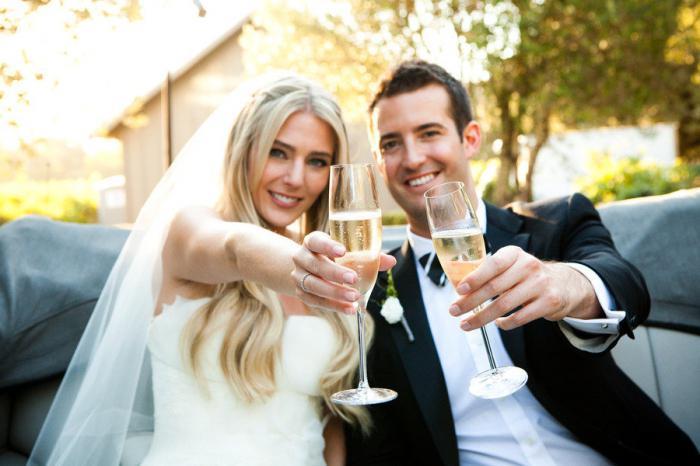 Очень красивый тост на свадьбе