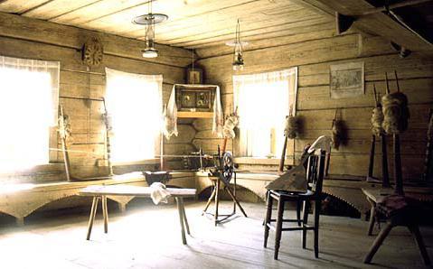 Старый деревенский дом