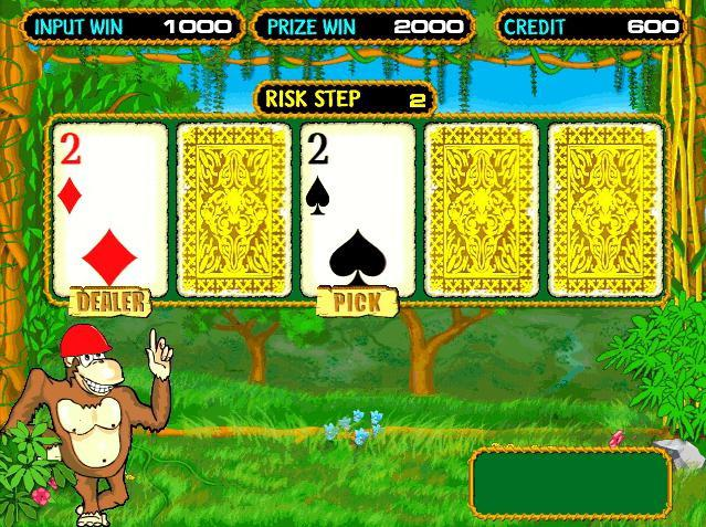 Игровой автомат Обезьянки ( ) бесплатно играть онлайн