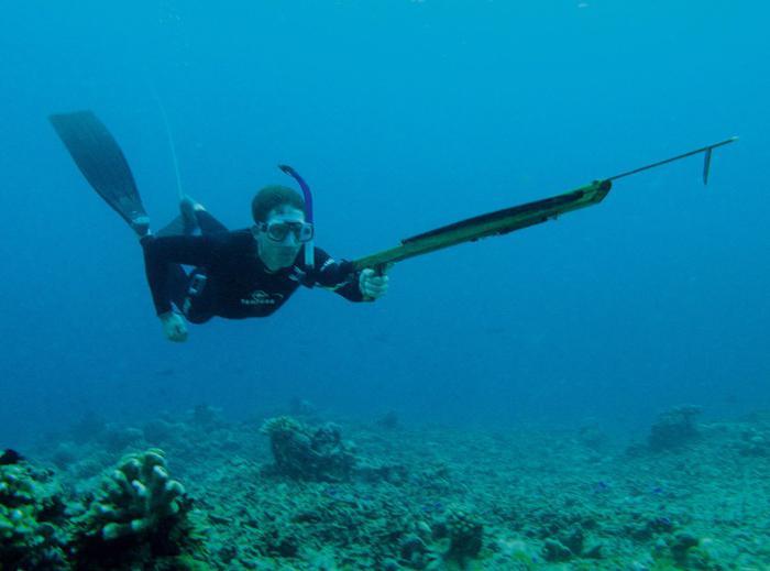 подводный гарпун