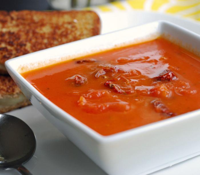 Как приготовить томатный суп в домашних условиях 235