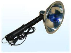 синяя лампа для прогревания отзывы