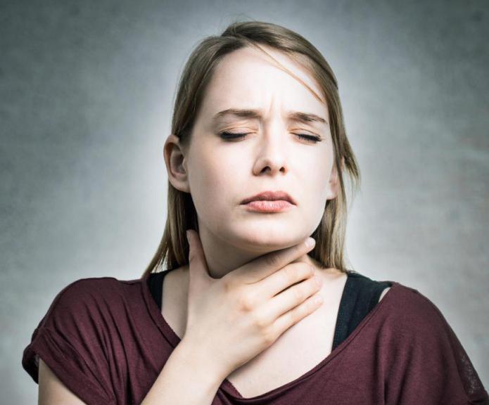 чем лечить боли в горле при беременности
