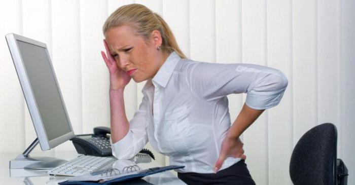 Боль в спине во время и после ходьбы