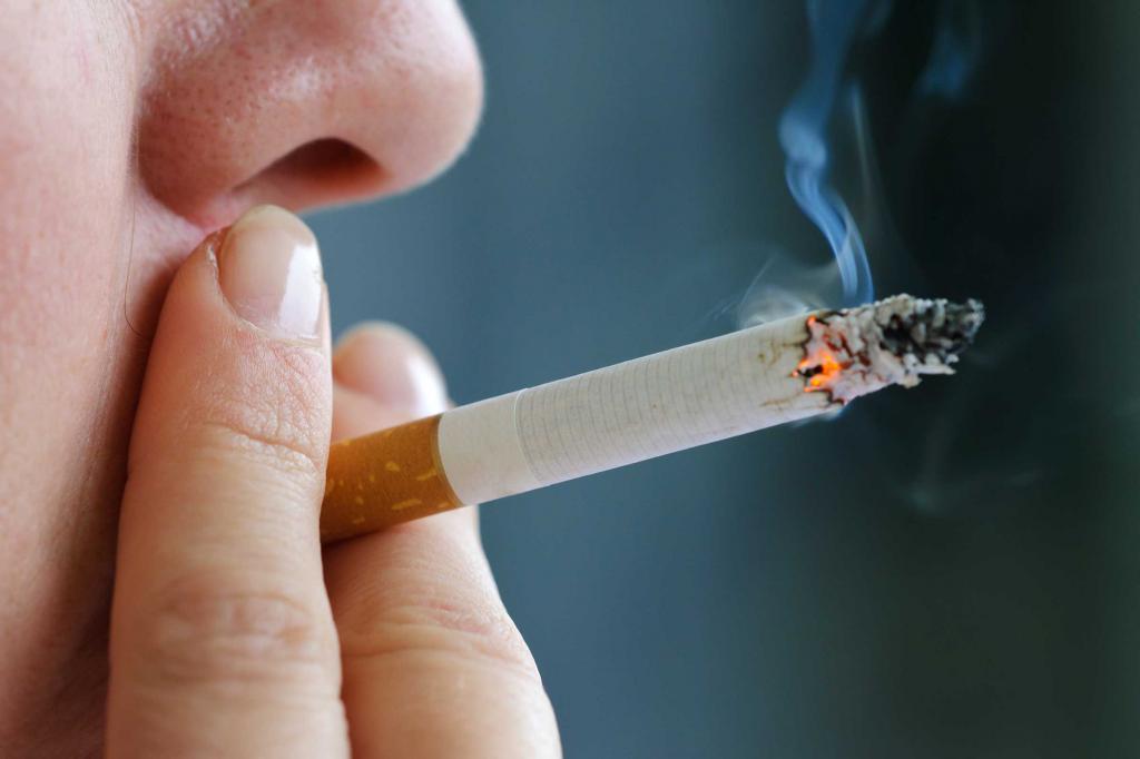 причина болезни - курение