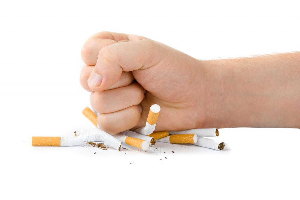 отказ от курения - первый шаг к выздоровлению