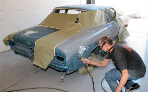 как покрасить машину своими руками