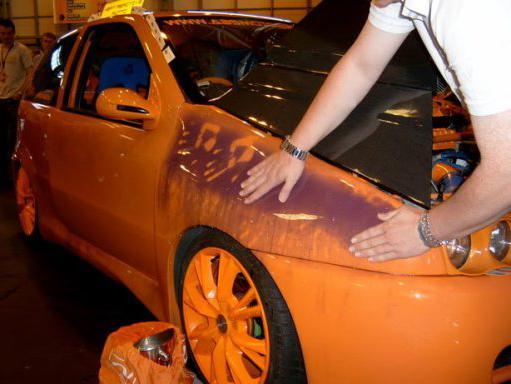 сколько стоит покрасить машину