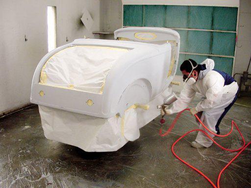 как покрасить машину баллончиком
