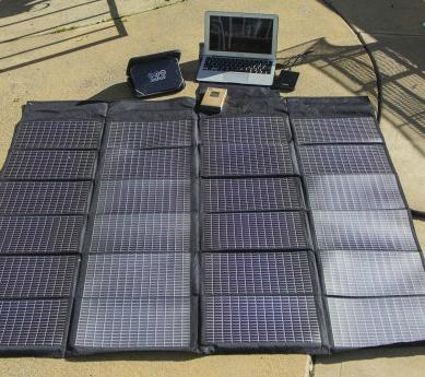 солнечные батареи для зарядки ноутбука