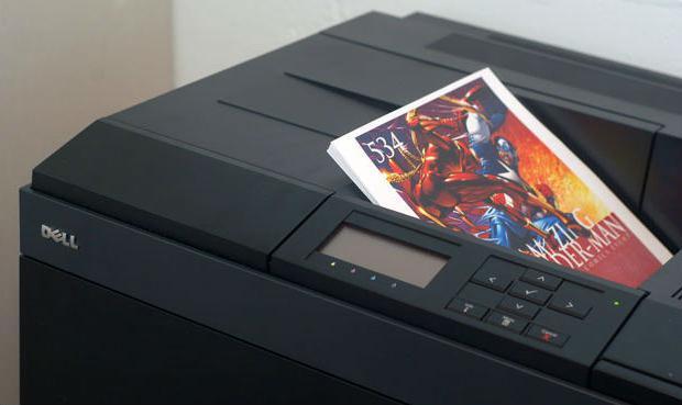 Пример печати фото на лазерном принтере