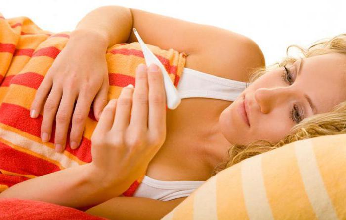 температура при замершей беременности на ранних сроках