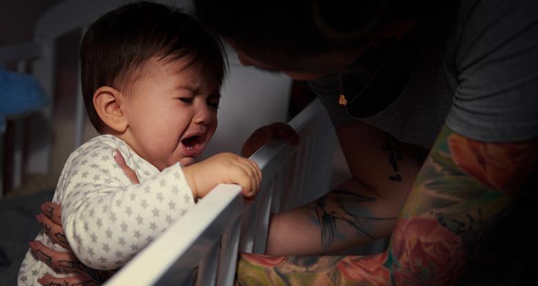 restless sleep in a child