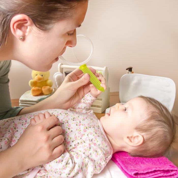 прозрачные сопли у месячного ребенка