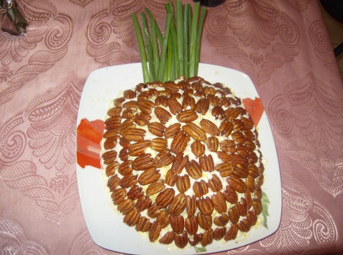 рецепты салатов цезарь на день рождения