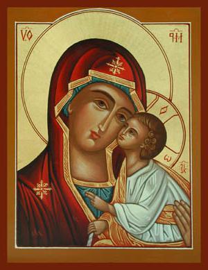 иконы написаннные апостолом лукой