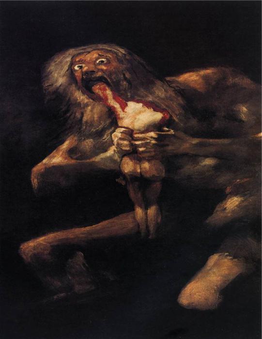 самые страшные картины художественная галерея
