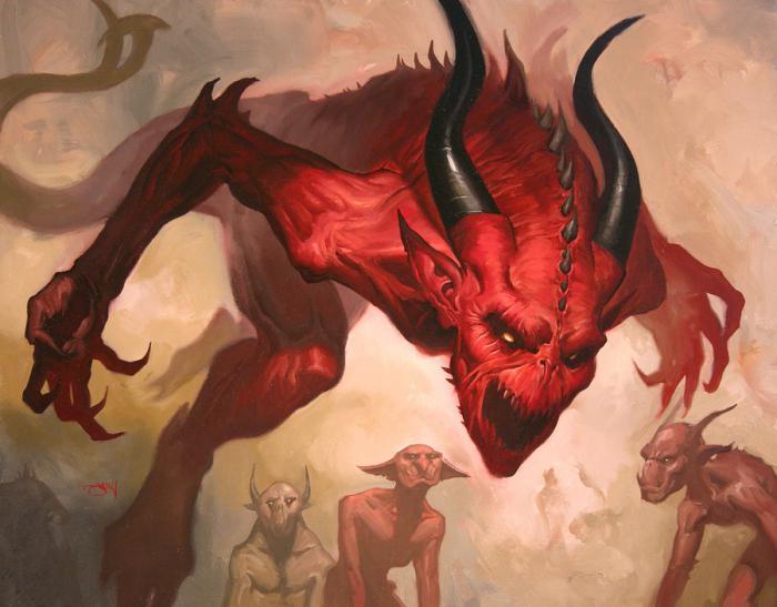 дьявол люцифер