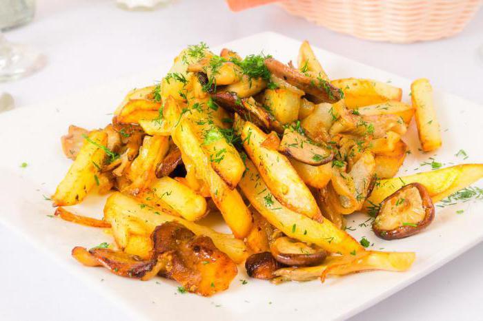 лисички жареные с картошкой рецепты приготовления скрипкина