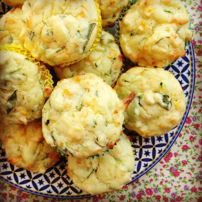 Маффины из кабачка: рецепт изготовления, варианты внутреннос…