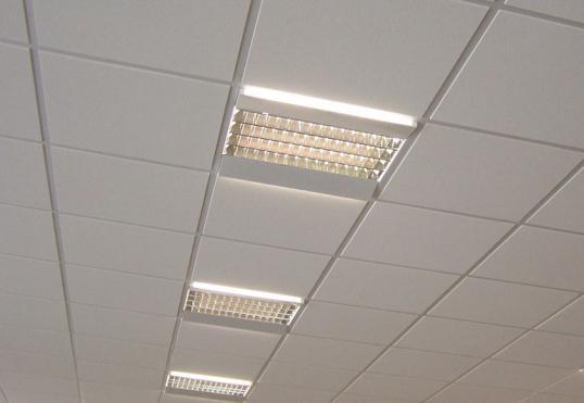 Подвесной потолок в коридоре