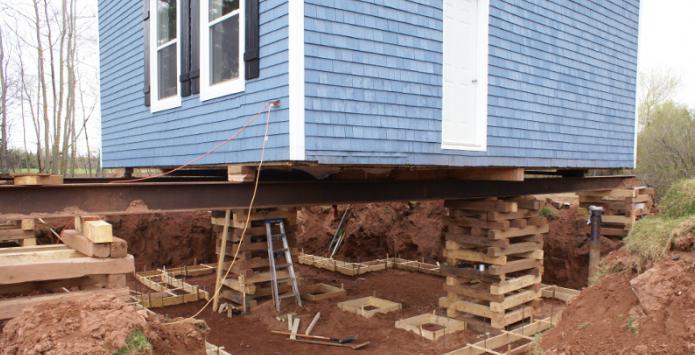 Как укрепить фундамент дома с цокольным этажом.