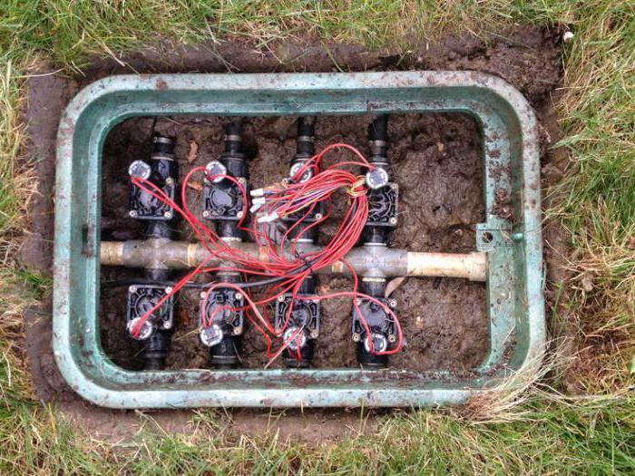 электромагнитные клапаны для автоматического полива