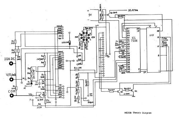Dt 830b digital multimeter как пользоваться