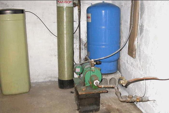 водонасосная станция установка