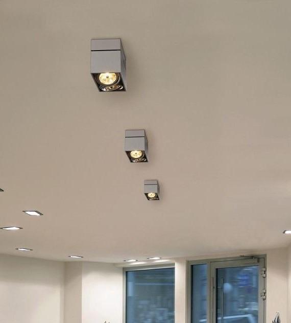 светодиодные светильники для дома потолочные накладные