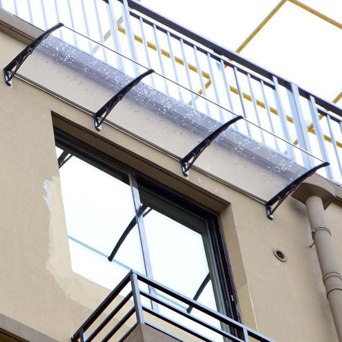Козырек на балкон: описание, виды, особенности монтажа.