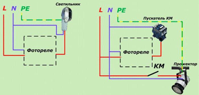схемы фотореле освещения