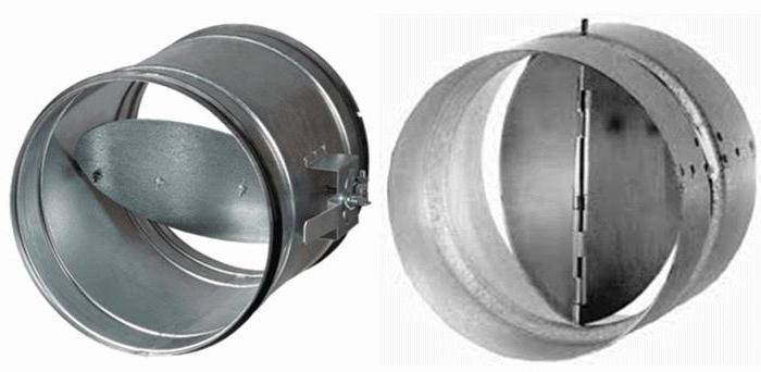 вентилятор осевой вытяжной с обратным клапаном